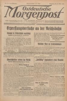 Ostdeutsche Morgenpost : erste oberschlesische Morgenzeitung. Jg.13, Nr. 75 (16 März 1931)