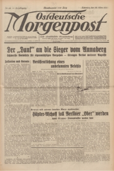 Ostdeutsche Morgenpost : erste oberschlesische Morgenzeitung. Jg.13, Nr. 84 (25 März 1931)