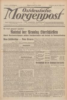 Ostdeutsche Morgenpost : erste oberschlesische Morgenzeitung. Jg.13, Nr. 86 (27 März 1931)