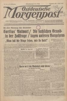 Ostdeutsche Morgenpost : erste oberschlesische Morgenzeitung. Jg.13, Nr. 91 (1 April 1931)