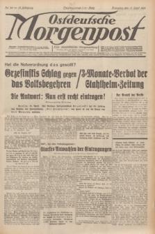 Ostdeutsche Morgenpost : erste oberschlesische Morgenzeitung. Jg.13, Nr. 99 (11 April 1931)