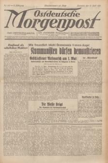 Ostdeutsche Morgenpost : erste oberschlesische Morgenzeitung. Jg.13, Nr. 100 (12 April 1931) + dod.