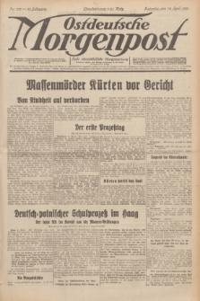 Ostdeutsche Morgenpost : erste oberschlesische Morgenzeitung. Jg.13, Nr. 102 (14 April 1931)