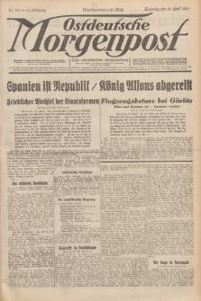 Ostdeutsche Morgenpost : erste oberschlesische Morgenzeitung. Jg.13, Nr. 103 (15 April 1931)