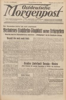 Ostdeutsche Morgenpost : erste oberschlesische Morgenzeitung. Jg.13, Nr. 104 (16 April 1931)