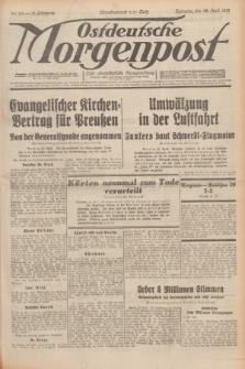 Ostdeutsche Morgenpost : erste oberschlesische Morgenzeitung. Jg.13, Nr. 111 (23 April 1931)