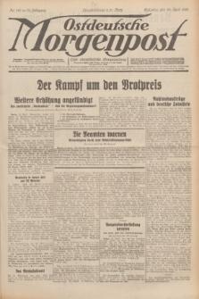 Ostdeutsche Morgenpost : erste oberschlesische Morgenzeitung. Jg.13, Nr. 112 (24 April 1931)