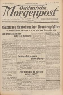 Ostdeutsche Morgenpost : erste oberschlesische Morgenzeitung. Jg.13, Nr. 113 (25 April 1931)