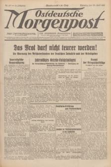Ostdeutsche Morgenpost : erste oberschlesische Morgenzeitung. Jg.13, Nr. 117 (29 April 1931)