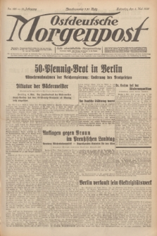Ostdeutsche Morgenpost : erste oberschlesische Morgenzeitung. Jg.13, Nr. 123 (5 Mai 1931)