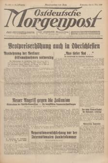 Ostdeutsche Morgenpost : erste oberschlesische Morgenzeitung. Jg.13, Nr. 126 (8 Mai 1931)