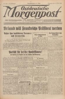 Ostdeutsche Morgenpost : erste oberschlesische Morgenzeitung. Jg.13, Nr. 130 (12 Mai 1931)