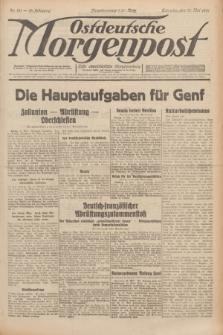 Ostdeutsche Morgenpost : erste oberschlesische Morgenzeitung. Jg.13, Nr. 131 (13 Mai 1931)