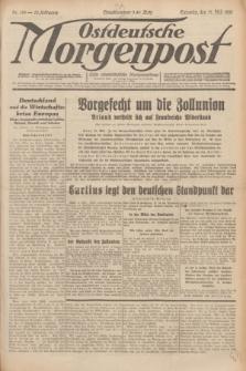 Ostdeutsche Morgenpost : erste oberschlesische Morgenzeitung. Jg.13, Nr. 135 (17 Mai 1931) + dod.