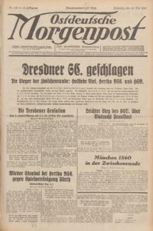 Ostdeutsche Morgenpost : erste oberschlesische Morgenzeitung. Jg.13, Nr. 136 (18 Mai 1931)