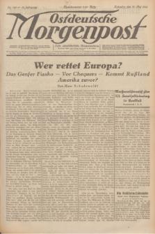 Ostdeutsche Morgenpost : erste oberschlesische Morgenzeitung. Jg.13, Nr. 148 (31 Mai 1931) + dod.