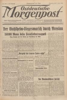 Ostdeutsche Morgenpost : erste oberschlesische Morgenzeitung. Jg.13, Nr. 149 (1 Juni 1931)