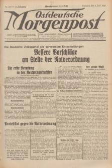 Ostdeutsche Morgenpost : erste oberschlesische Morgenzeitung. Jg.13, Nr. 150 (2 Juni 1931) + dod.