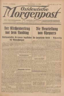Ostdeutsche Morgenpost : erste oberschlesische Morgenzeitung. Jg.13, Nr. 157 (9 Juni 1931) + dod.