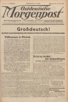 Ostdeutsche Morgenpost : erste oberschlesische Morgenzeitung. Jg.13, Nr. 161 (13 Juni 1931) + dod.