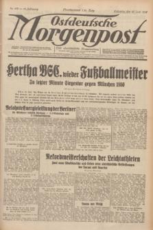 Ostdeutsche Morgenpost : erste oberschlesische Morgenzeitung. Jg.13, Nr. 163 (15 Juni 1931)