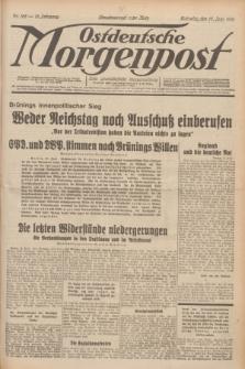 Ostdeutsche Morgenpost : erste oberschlesische Morgenzeitung. Jg.13, Nr. 165 (17 Juni 1931) + dod.