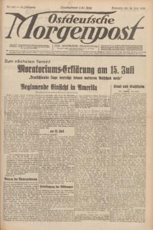 Ostdeutsche Morgenpost : erste oberschlesische Morgenzeitung. Jg.13, Nr. 166 (18 Juni 1931) + dod.