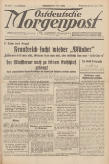 Ostdeutsche Morgenpost : erste oberschlesische Morgenzeitung. Jg.13, Nr. 172 (24 Juni 1931) + dod.