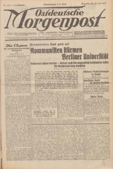 Ostdeutsche Morgenpost : erste oberschlesische Morgenzeitung. Jg.13, Nr. 176 (28 Juni 1931) + dod.