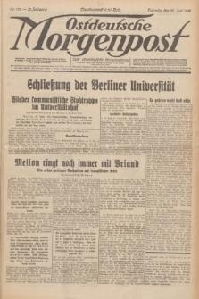 Ostdeutsche Morgenpost : erste oberschlesische Morgenzeitung. Jg.13, Nr. 178 (30 Juni 1931) + dod.