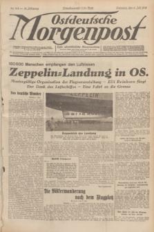 Ostdeutsche Morgenpost : erste oberschlesische Morgenzeitung. Jg.13, Nr. 184 (6 Juli 1931)