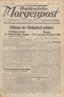 Ostdeutsche Morgenpost : erste oberschlesische Morgenzeitung. Jg.13, Nr. 185 (7 Juli 1931) + dod.