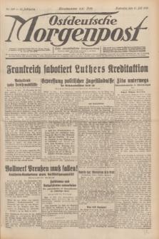 Ostdeutsche Morgenpost : erste oberschlesische Morgenzeitung. Jg.13, Nr. 189 (11 Juli 1931) + dod.