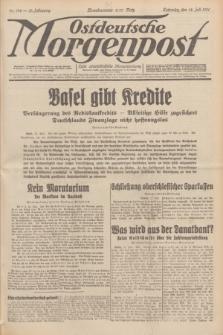 Ostdeutsche Morgenpost : erste oberschlesische Morgenzeitung. Jg.13, Nr. 192 (14 Juli 1931) + dod.