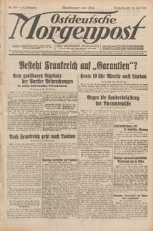 Ostdeutsche Morgenpost : erste oberschlesische Morgenzeitung. Jg.13, Nr. 198 (20 Juli 1931)