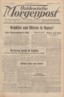 Ostdeutsche Morgenpost : erste oberschlesische Morgenzeitung. Jg.13, Nr. 199 (21 Juli 1931) + dod.