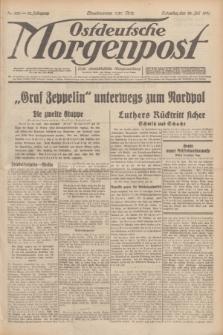 Ostdeutsche Morgenpost : erste oberschlesische Morgenzeitung. Jg.13, Nr. 203 (25 Juli 1931) + dod.