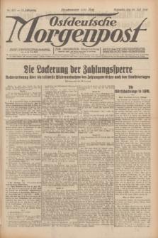 Ostdeutsche Morgenpost : erste oberschlesische Morgenzeitung. Jg.13, Nr. 207 (29 Juli 1931) + dod.