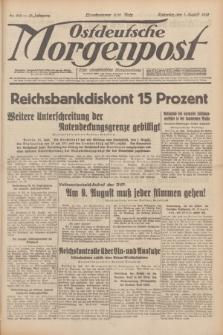 Ostdeutsche Morgenpost : erste oberschlesische Morgenzeitung. Jg.13, Nr. 210 (1 August 1931) + dod.