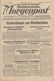 Ostdeutsche Morgenpost : erste oberschlesische Morgenzeitung. Jg.13, Nr. 213 (4 August 1931) + dod.