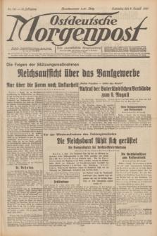 Ostdeutsche Morgenpost : erste oberschlesische Morgenzeitung. Jg.13, Nr. 214 (5 August 1931) + dod.