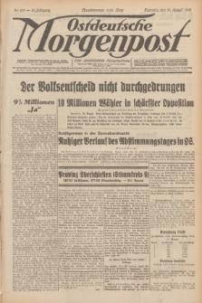Ostdeutsche Morgenpost : erste oberschlesische Morgenzeitung. Jg.13, Nr. 219 (10 August 1931)