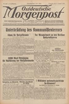 Ostdeutsche Morgenpost : erste oberschlesische Morgenzeitung. Jg.13, Nr. 220 (11 August 1931) + dod.