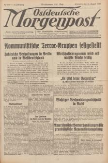 Ostdeutsche Morgenpost : erste oberschlesische Morgenzeitung. Jg.13, Nr. 222 (13 August 1931) + dod.