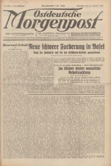 Ostdeutsche Morgenpost : erste oberschlesische Morgenzeitung. Jg.13, Nr. 225 (16 August 1931) + dod.