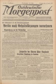 Ostdeutsche Morgenpost : erste oberschlesische Morgenzeitung. Jg.13, Nr. 228 (19 August 1931) + dod.