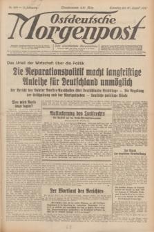 Ostdeutsche Morgenpost : erste oberschlesische Morgenzeitung. Jg.13, Nr. 229 (20 August 1931) + dod.