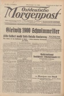 Ostdeutsche Morgenpost : erste oberschlesische Morgenzeitung. Jg.13, Nr. 233 (24 August 1931)
