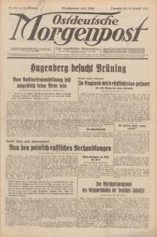 Ostdeutsche Morgenpost : erste oberschlesische Morgenzeitung. Jg.13, Nr. 236 (27 August 1931) + dod.