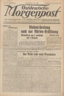 Ostdeutsche Morgenpost : erste oberschlesische Morgenzeitung. Jg.13, Nr. 239 (30 August 1931) + dod.